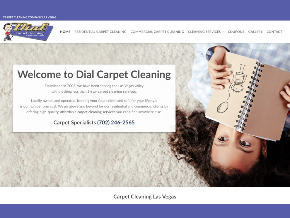 K2Analytics Dial Carpet Cleaning Portfolio